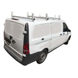 Aluminum 3 Bar Ladder Rack for Mercedes Metris