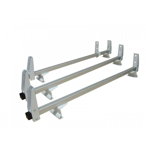 Aluminum 3 Bar Ladder Rack Ford Transit Low Roof Cargo