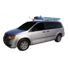Aluminum Minivan Ladder Rack - Double Lock Down