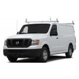 Aluminum 2 Bar Ladder Rack - Nissan NV Cargo Low Roof