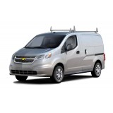 Aluminum 2 Bar Ladder Rack - Chevy City Express 2015 - Newer Models