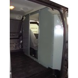 Van Safety Partition, Bulkhead - open in the center Chevy Express