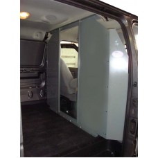 Van Safety Partition, Bulkhead - open in the center Ford Econoline 1996-2014