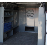 "Ford Transit Full Size Van - Low Roof - Safety Partition, Bulkhead with 10"" opening at floor level, 2014 - All Later Models"