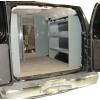 Van Shelving Storage Unit 45L x 44H x 13D -  Full Size Van -GMC, Chevy, Ford