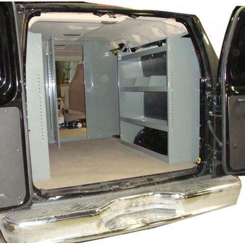Van Shelving Storage Unit 45l X 44h X 13d Full Size Van