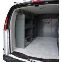 Full Size Van Shelving