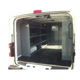 Set of 3 Shelving Units for Low Roof Ford Transit - Contractors Package