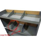 Shelving Dividers for Middle/Bottom Tray