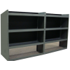 Base Van Shelving Package - Set of 2 Shelves, GMC, Chevy, Ford