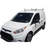 Aluminum 2 Bar Ladder Rack - 2014 - 2017 Ford Transit Connect