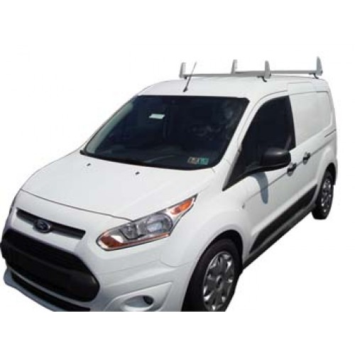 Aluminum 2 Bar Ladder Rack Ford Transit Connect 2014