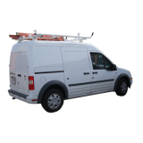 Aluminum Ladder Rack Ford Transit Connect - Base Model. No Lock Down