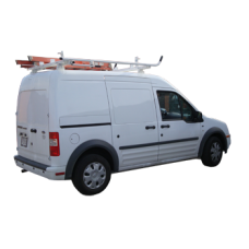 Aluminum Ladder Rack - Ford Transit Connect 2009 - 2013, Double Lock Down