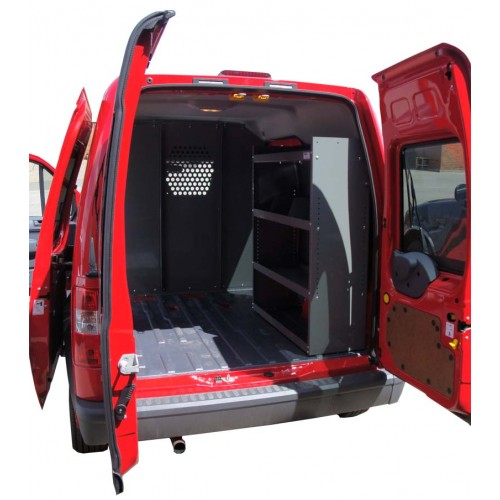"""2012 Ford Transit Connect Refrigeration Mini Cargo Van: Ford Transit Connect Shelving 32""""Lx44""""Hx13""""D"""